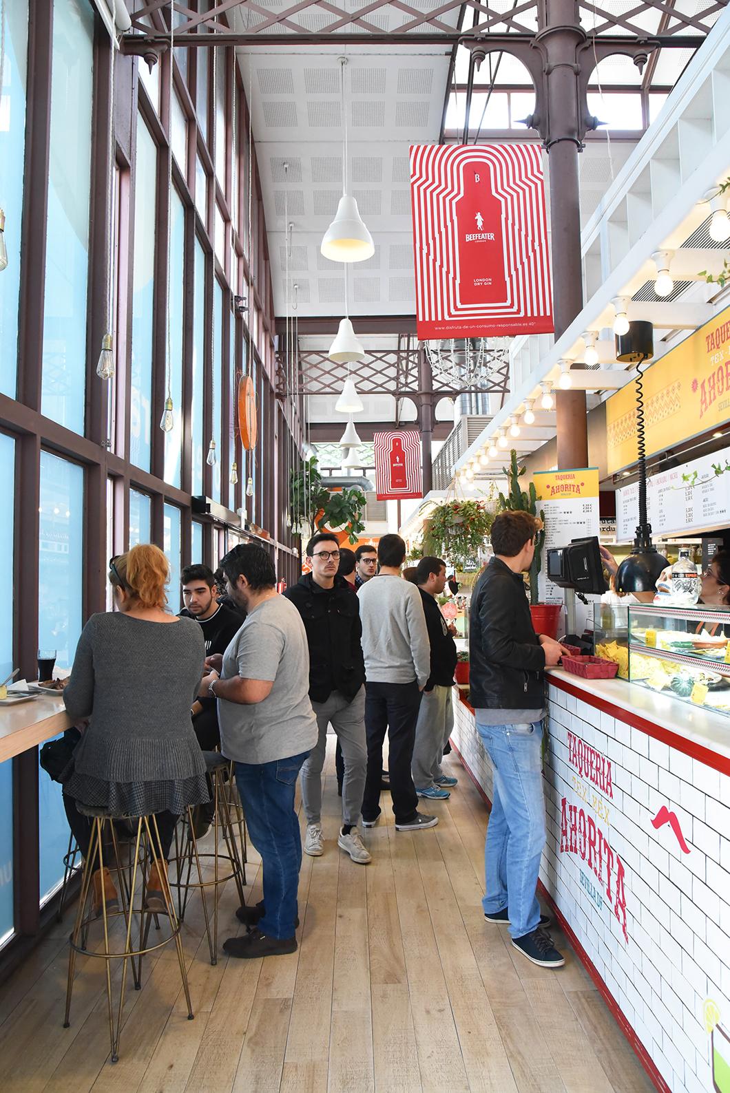 Street food à Séville - Mercado Longa del Barranco