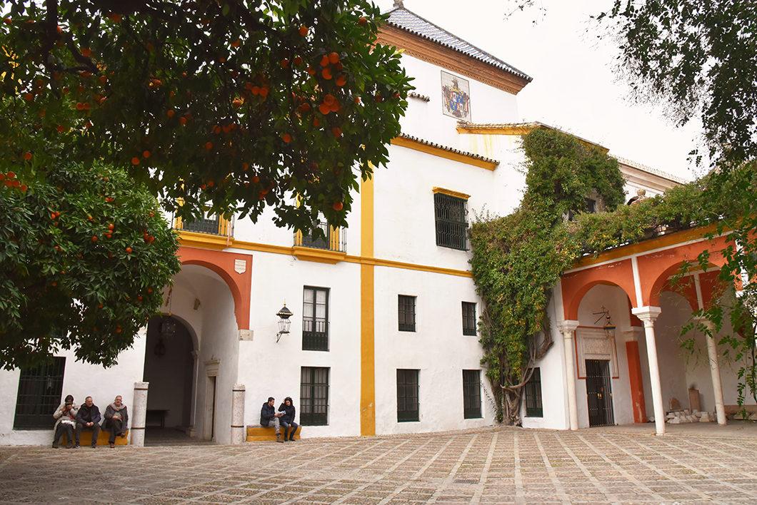 Nouvel an à Séville, visiter la Casa de Pilatos