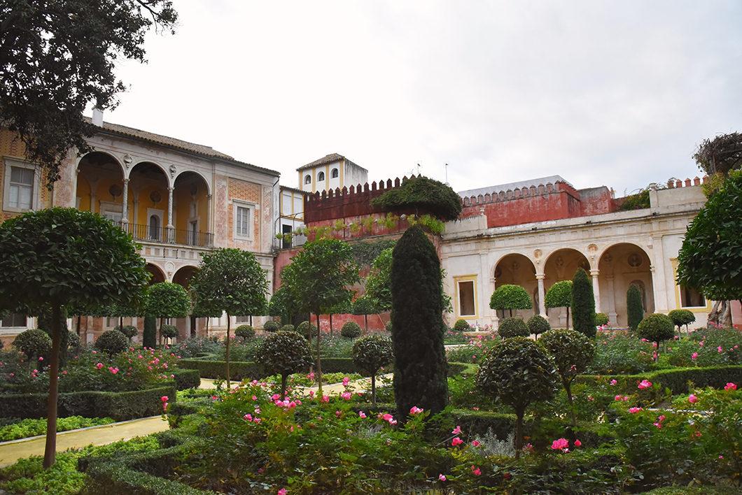 Les jardins de la Casa de Pilatos