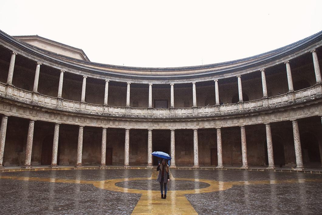 Visiter l'Alhambra sous la pluie