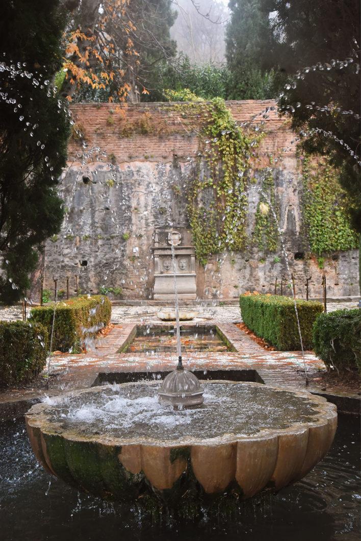 Les belles fontaines de l'Alhambra