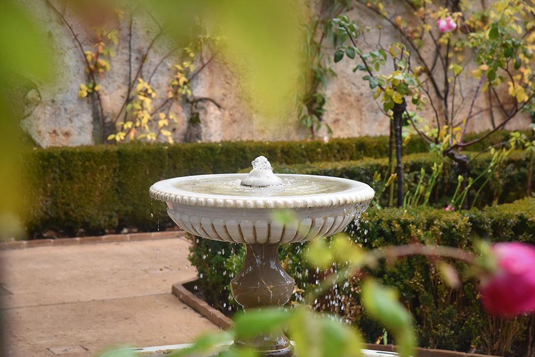 Architecture de l'Alhambra à Grenade en Espagne