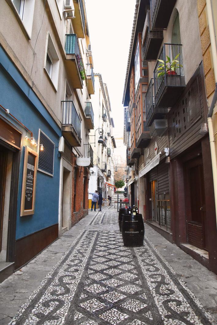Les rues colorées de Grenade