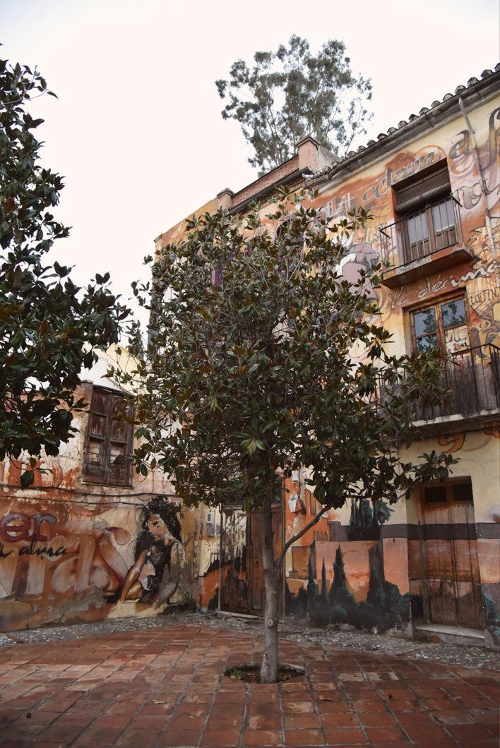 Street art en Espagne à Grenade