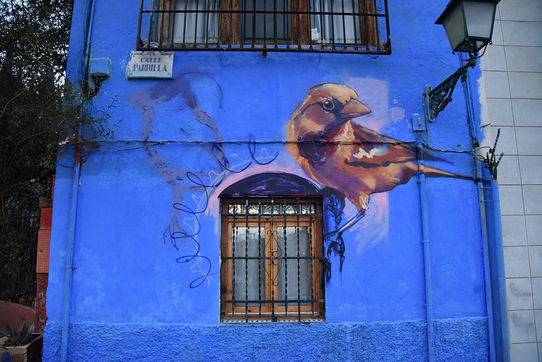 Street art à Grenade