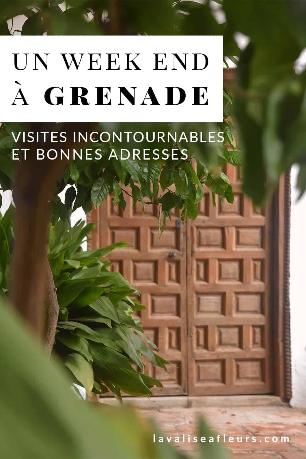 Visites incontournables et bonnes adresses à Grenade