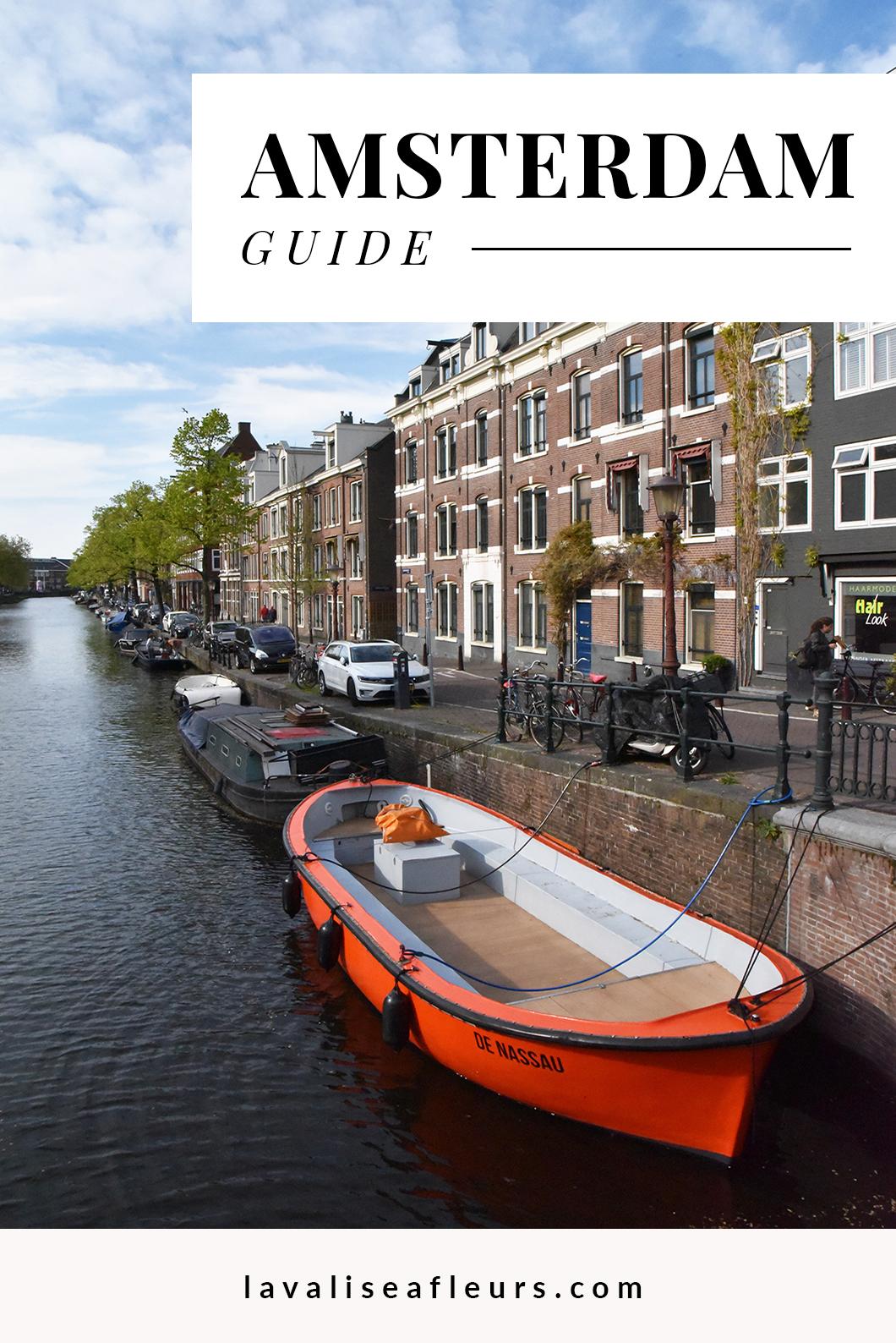 Guide de Amsterdam en Europe