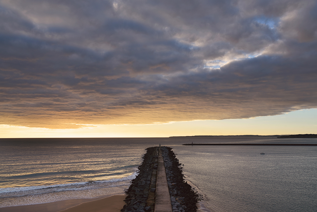 Portimão et la praia do Molhe