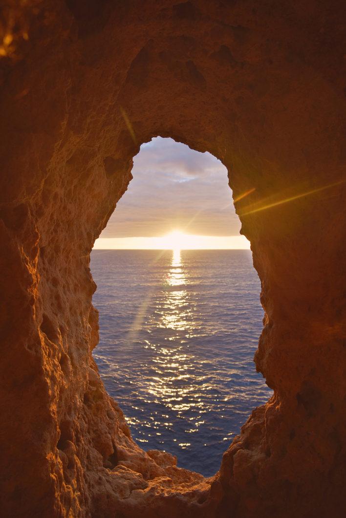 Algar Seco, meilleur point de vue pour le coucher de soleil