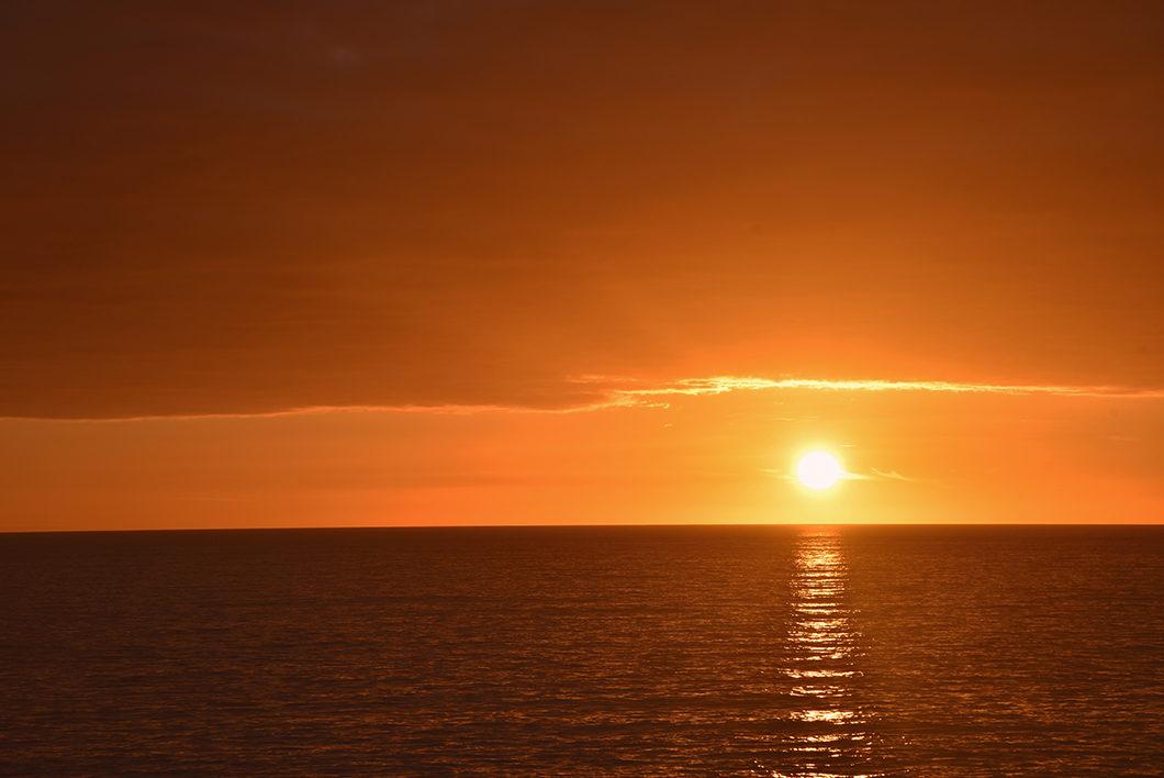 Observer le coucher de soleil à Algar Seco en Algarve