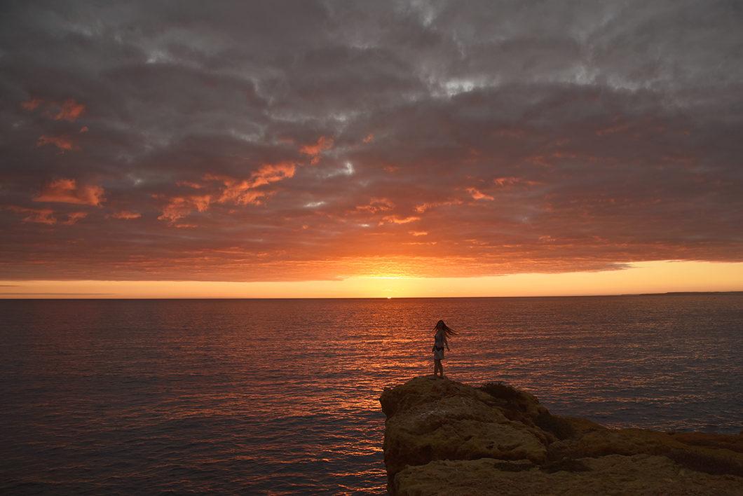 Où aller pour voir le coucher de soleil en Algarve ? Algar Seco