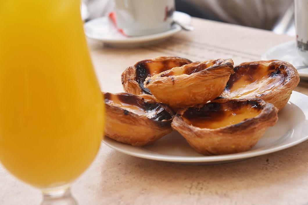 Goûter au pasteis de nata en Algarve au Portugal