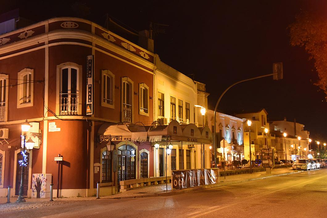 Découvrir Silves en Algarve de nuit