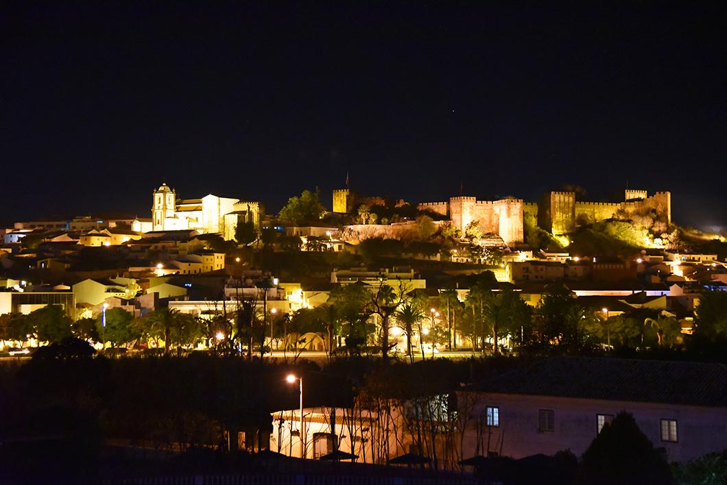 Visiter la forteresse de Silves en Algarve en hiver