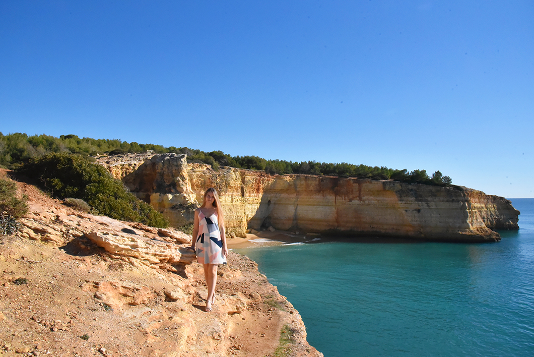 Les plus belles plages en Algarve, Benagil