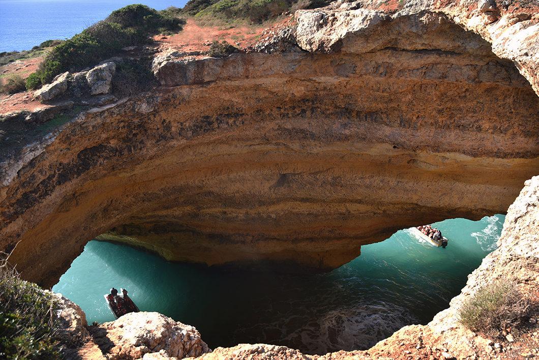 Guide de l'Algarve, visiter Benagil
