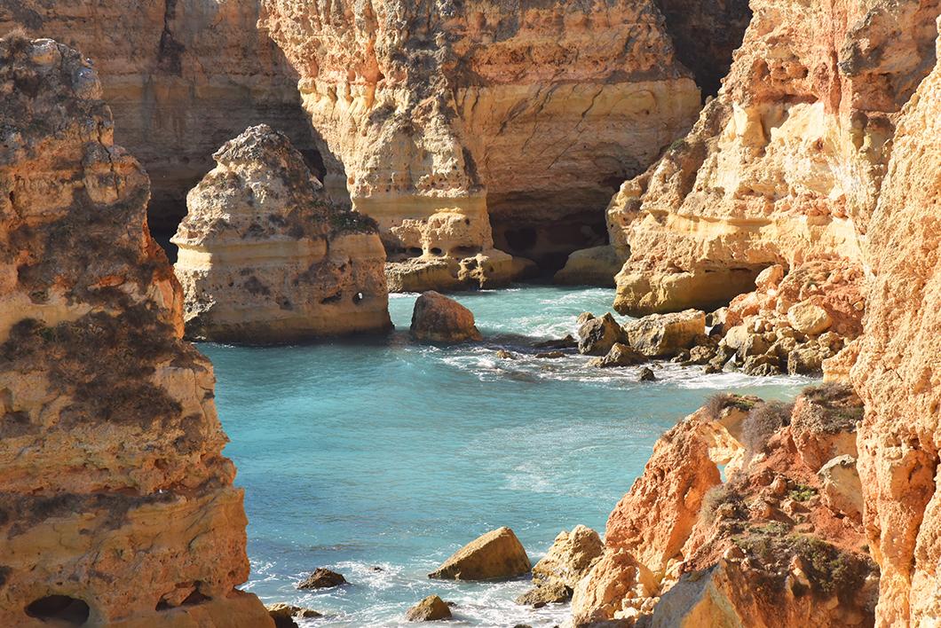 Les p lus belles plages en Algarve, Praia da Marinha