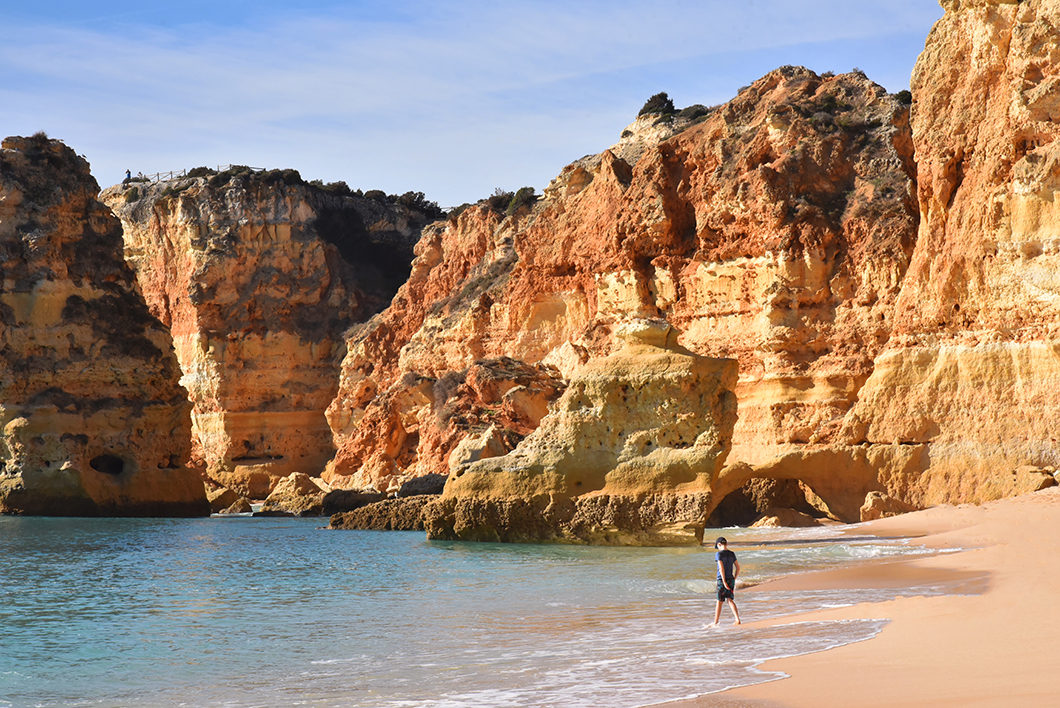 Praia da Marinha, l'une des plus belles plages de l'Algarve