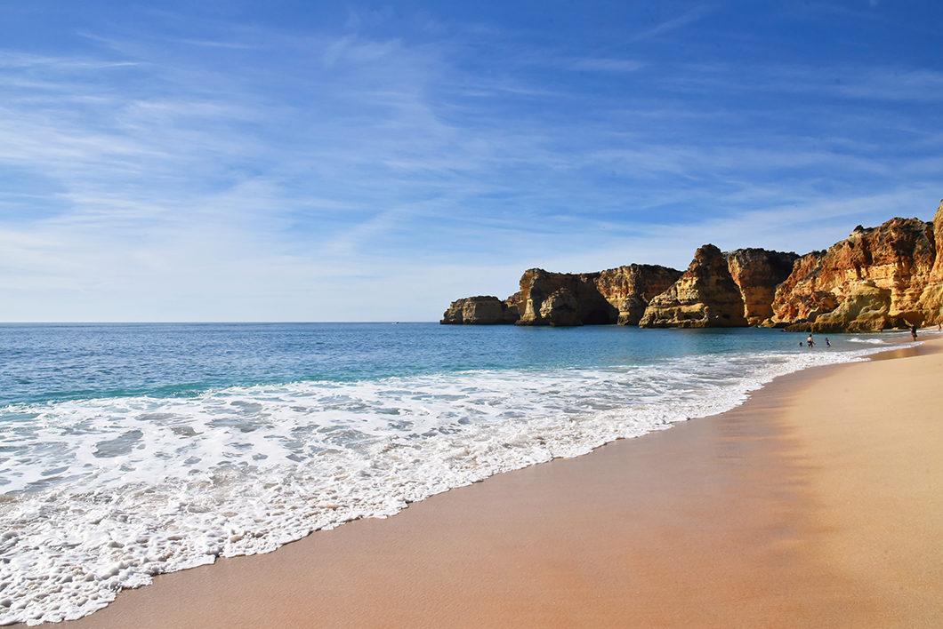 Praia da Marinha, l'un des meilleurs spots de l'Algarve