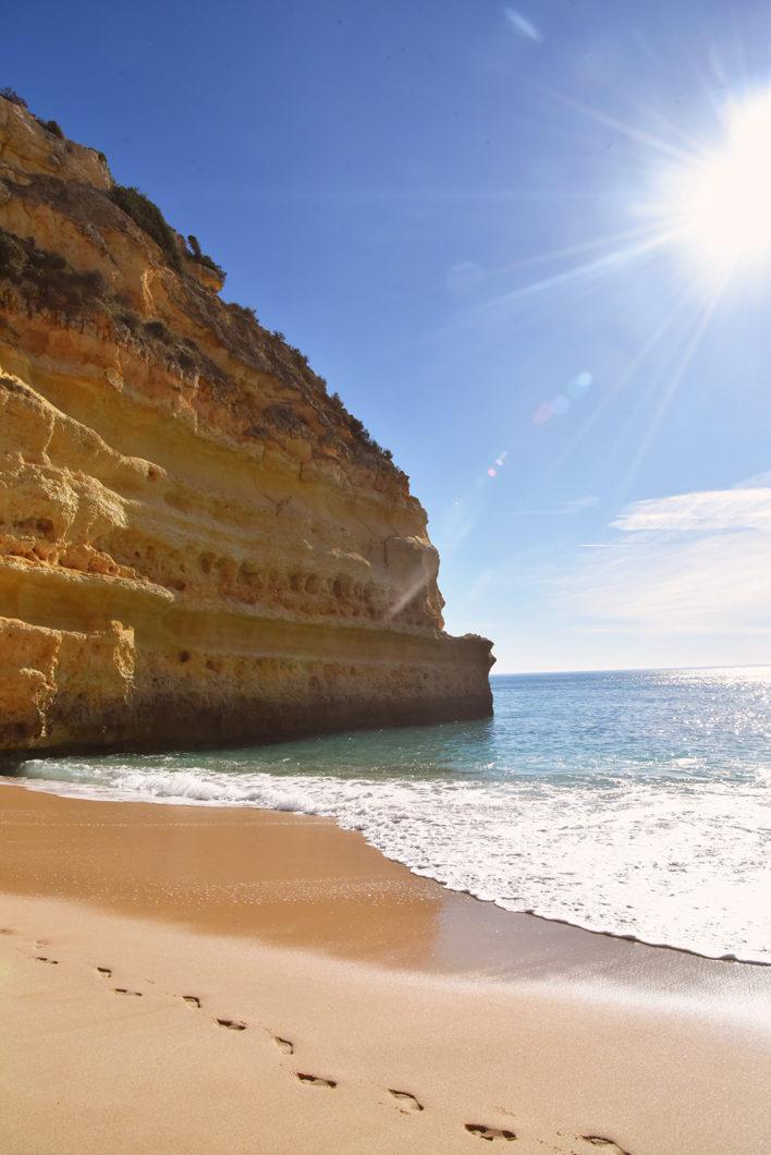 Praia da Marinha, l'une des plus belles plage de l'Algarve au Portugal