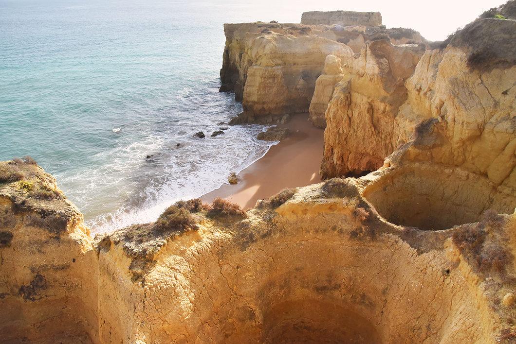 Visiter l'Algarve en hiver, Praia do Castelo