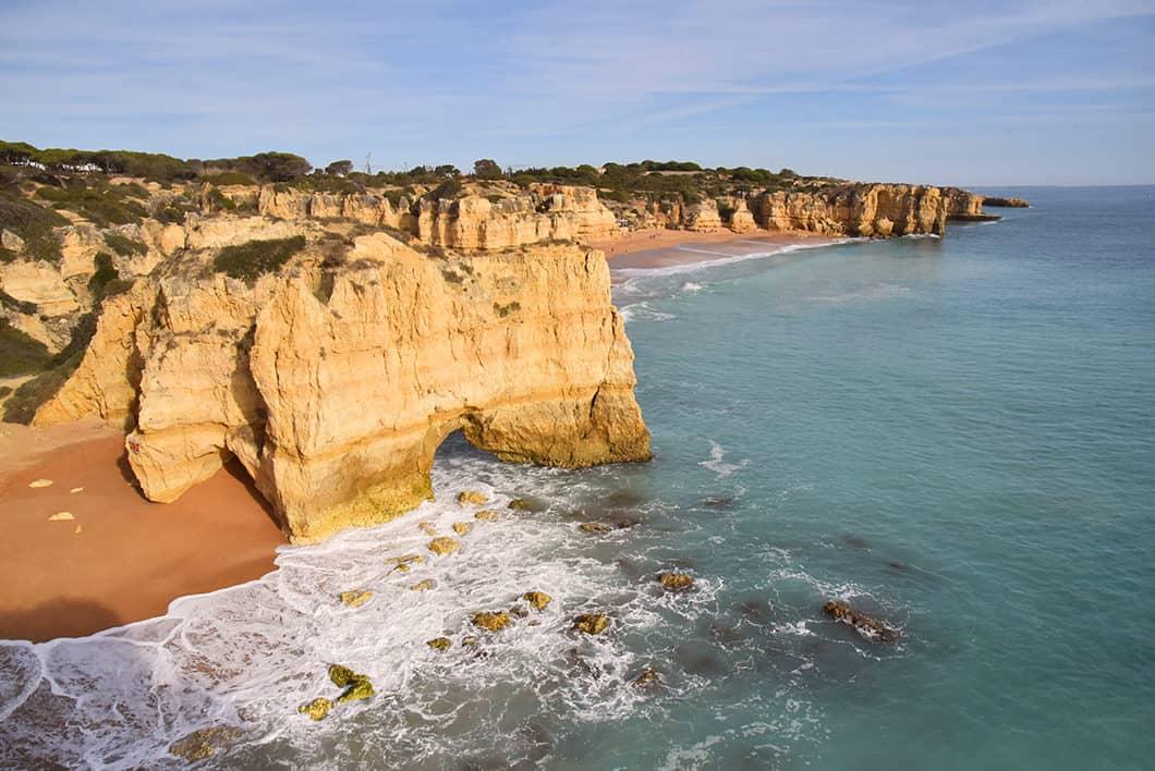 Les endroits à voir en Algarve, Praia do Castelo