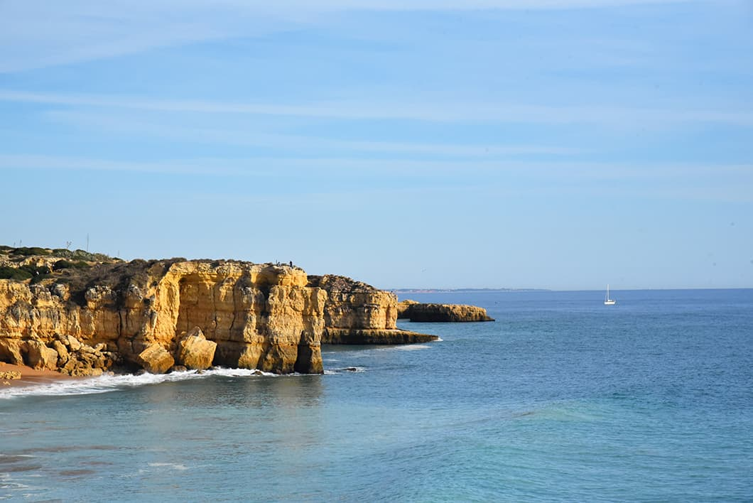 Voir les falaise en Algarve