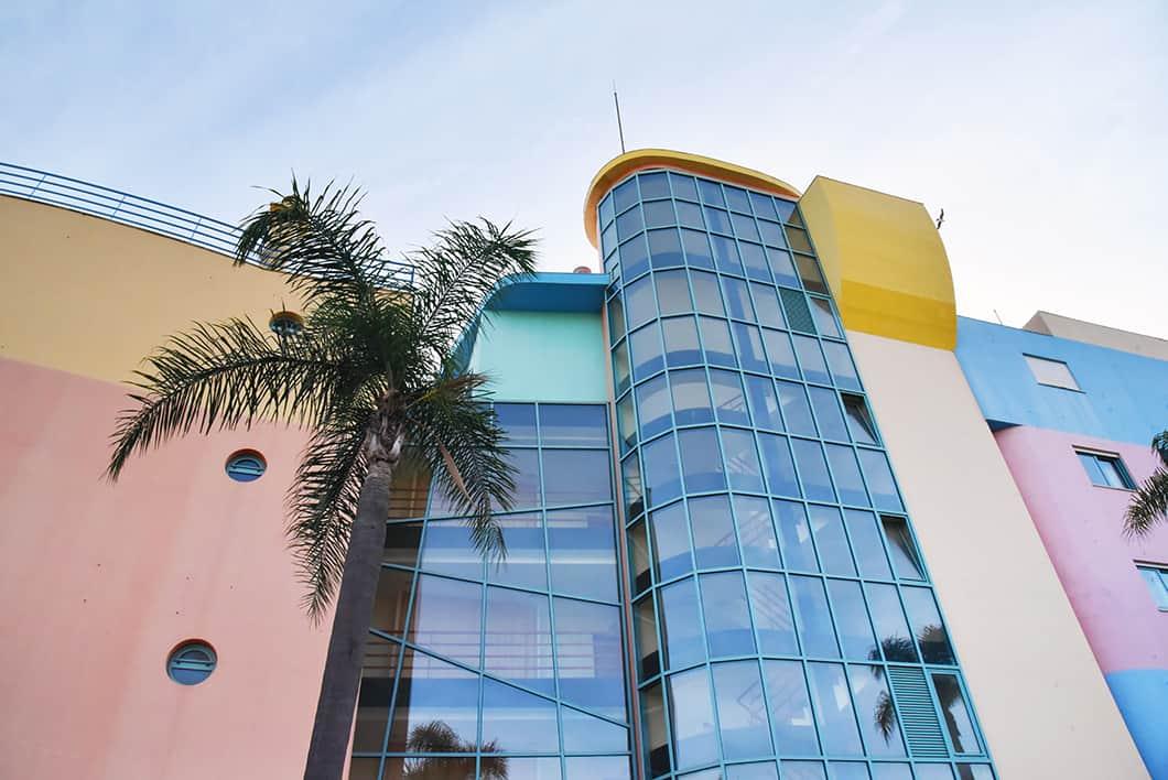 La marina de Albufeira, la ville pastel de l'Algarve