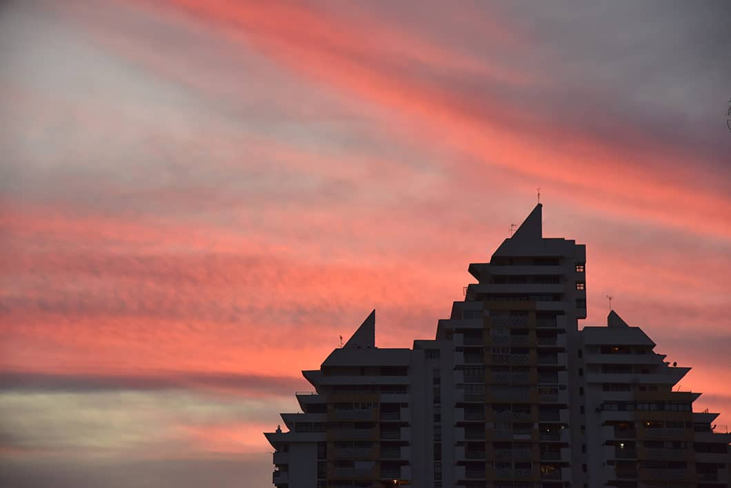 Coucher de soleil en Algarve