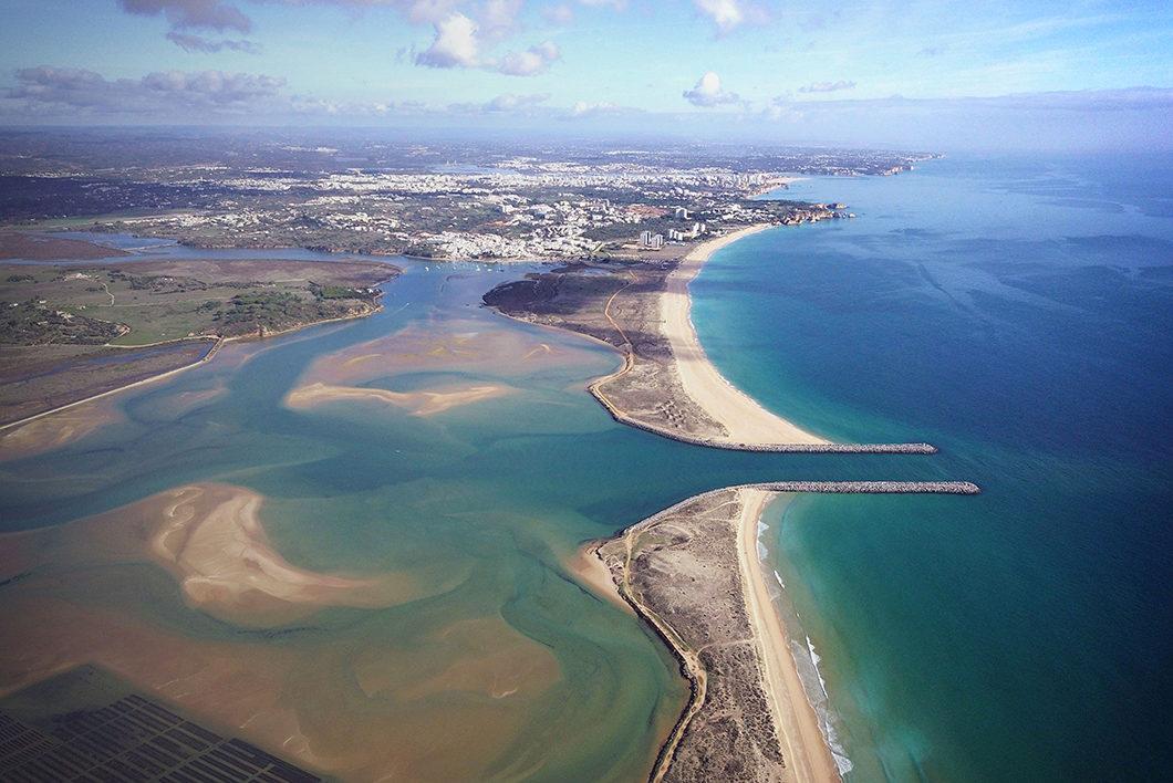 Plage de Lagos en Algarve