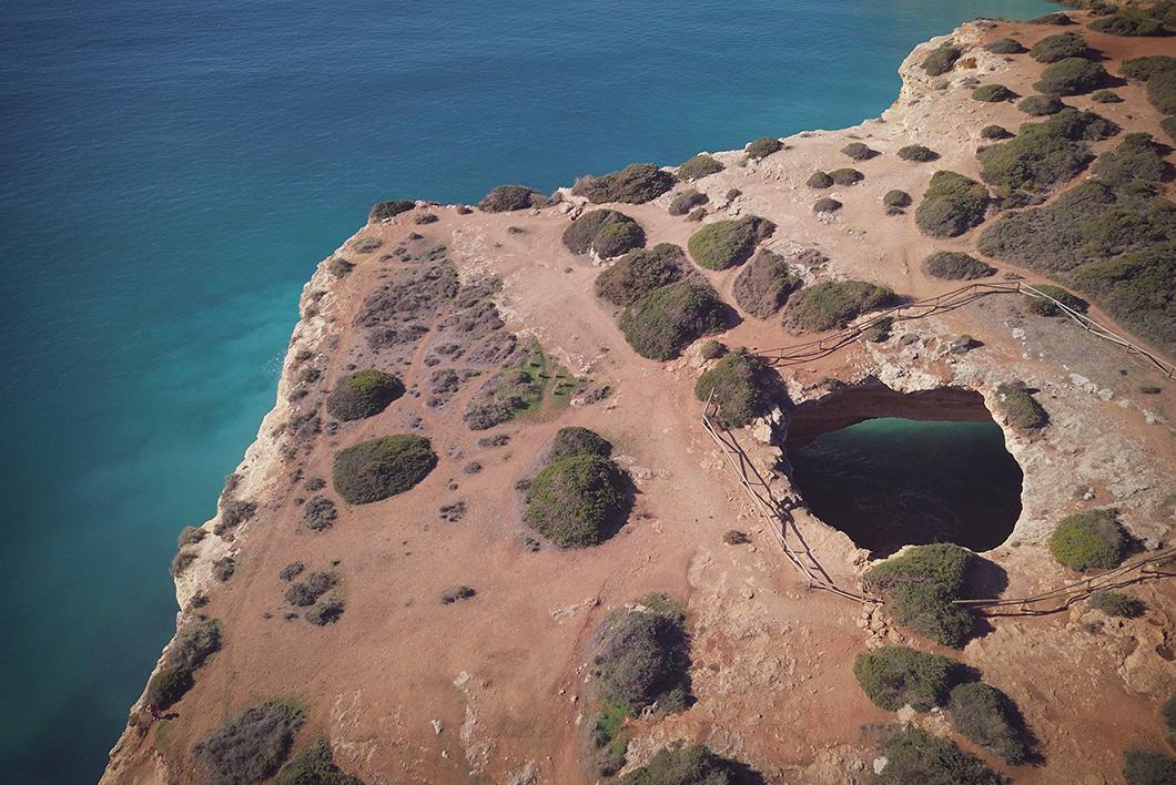 Visiter Benagil caves en Algarve