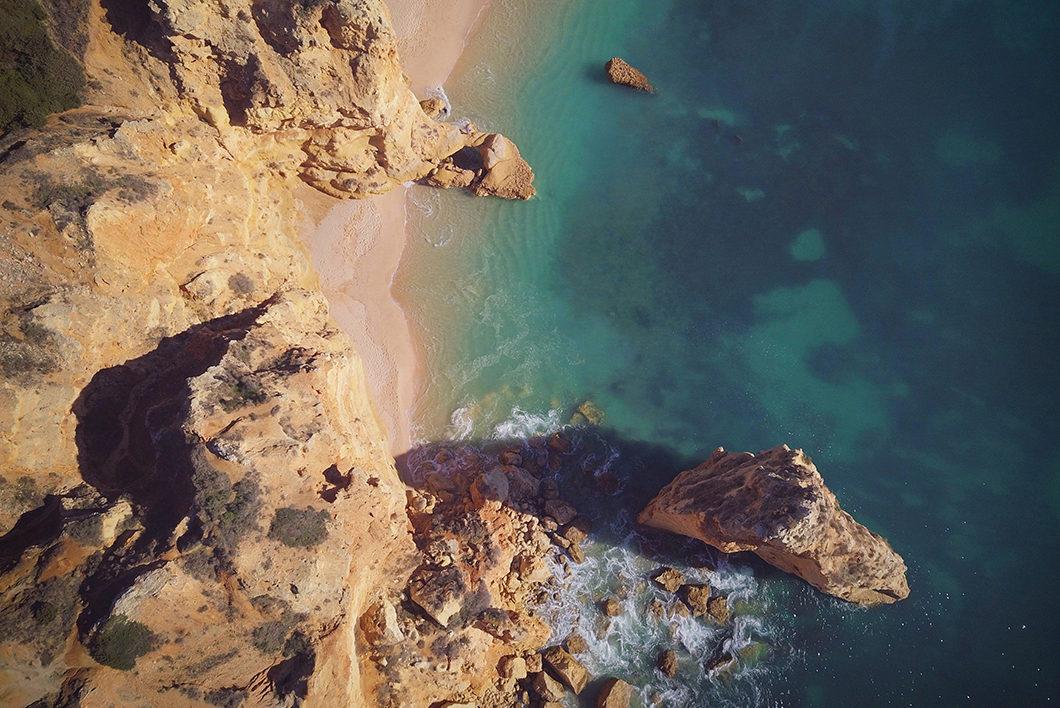 Guide de l'Algarve, visiter Praia da Marinha