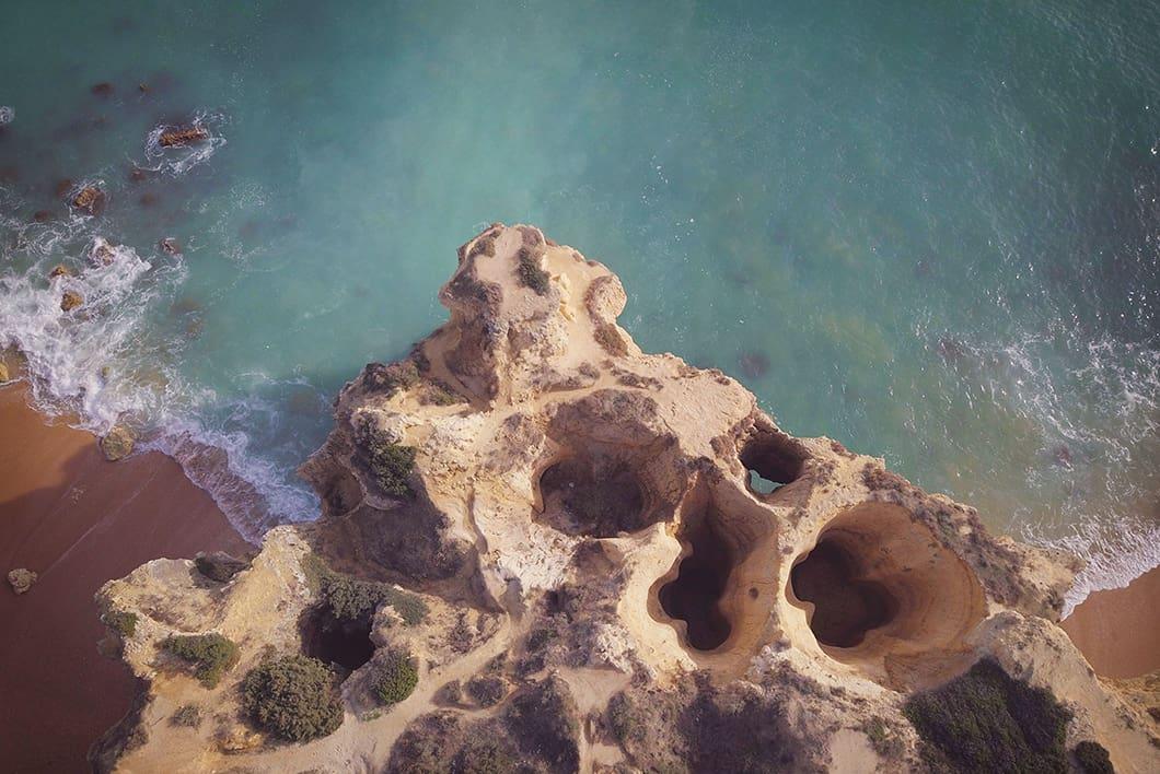 Praia do Castelo, plus belle plage de l'Algarve