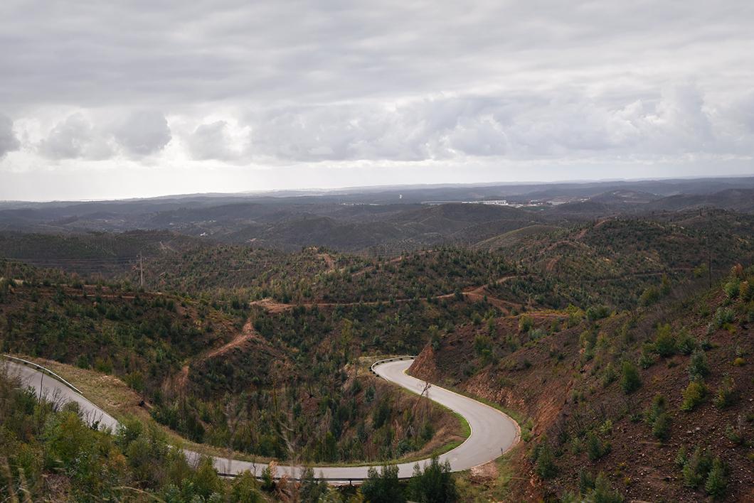 Road trip en Algarve en hiver au Portugal
