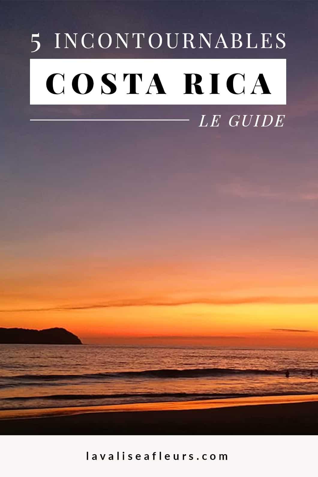 5 incontournables au Costa Rica