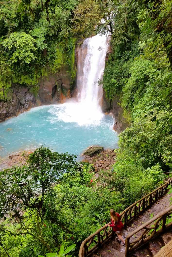 Le paradis bleu du Rio Celeste