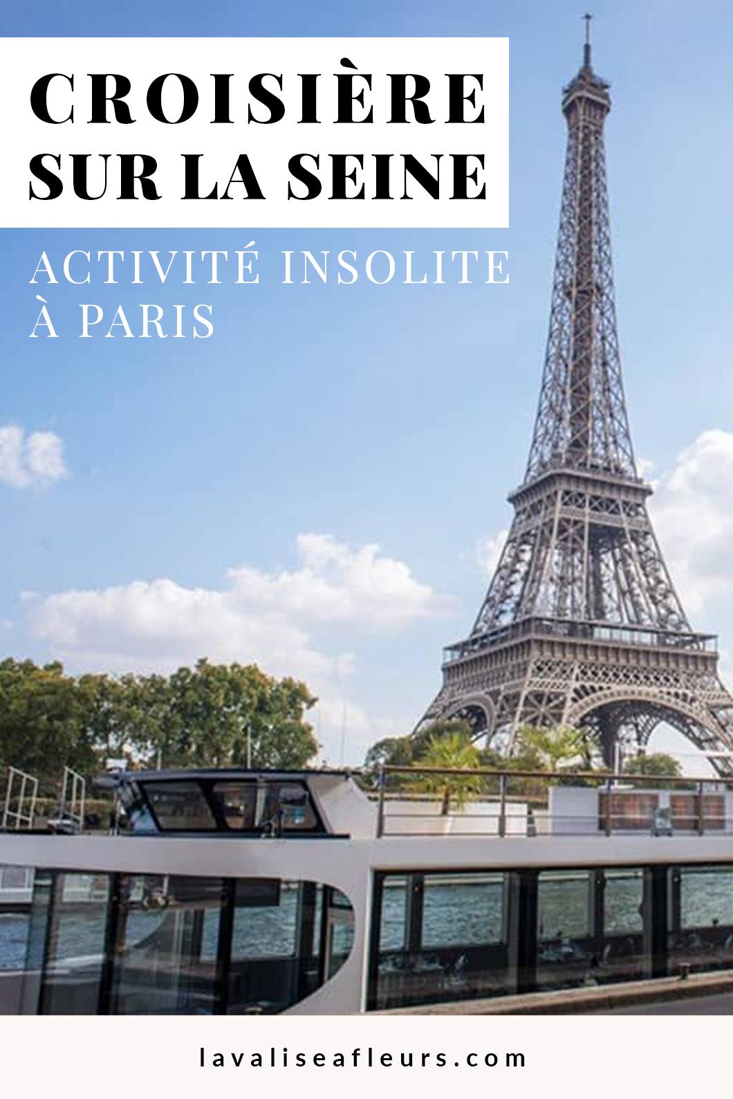 Faire une croisière sur la Seine, activité incontournable à Paris