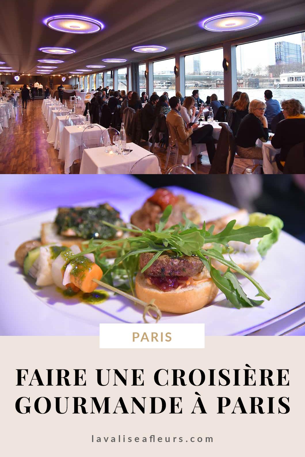 Où diner à Paris ? Faire une croisière gourmande à Paris