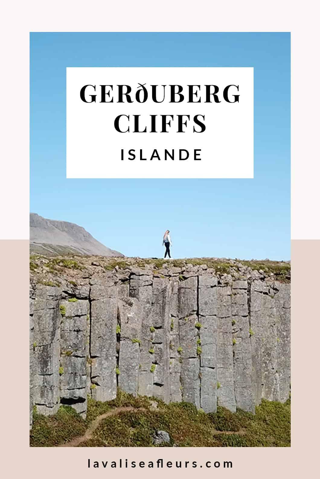 Visiter les Gerðuberg Cliffs en Islande