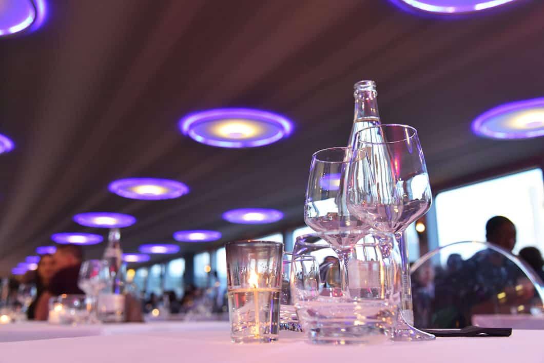 Diner croisière à bord du Diamant Bleu à Paris
