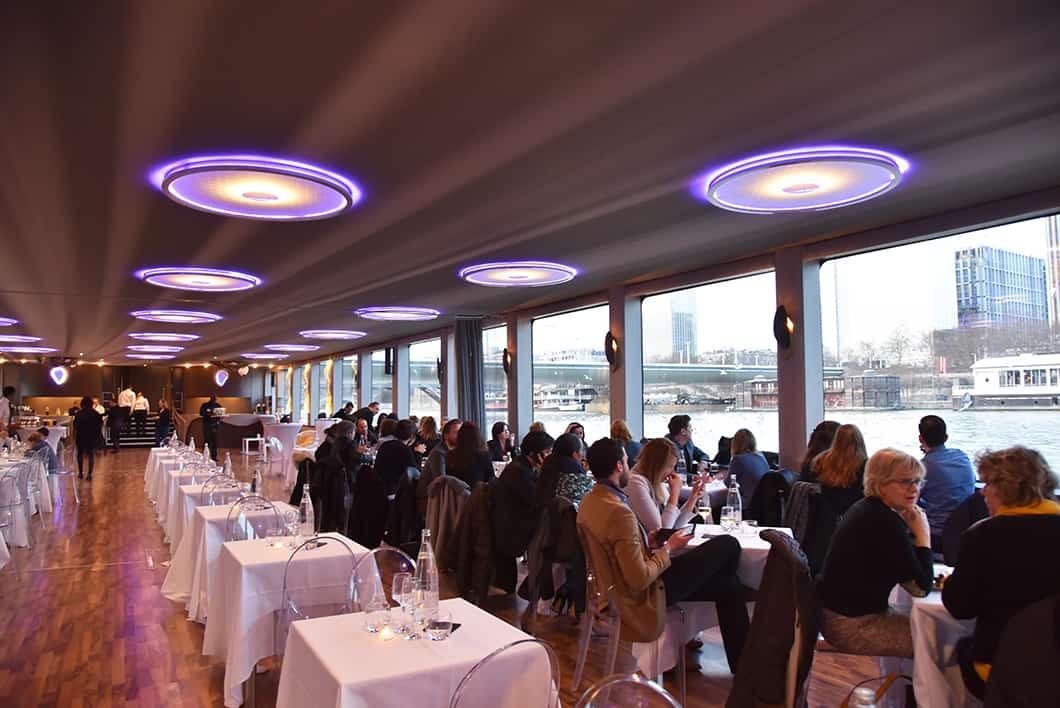 Meilleur bateau avec dîner à Paris