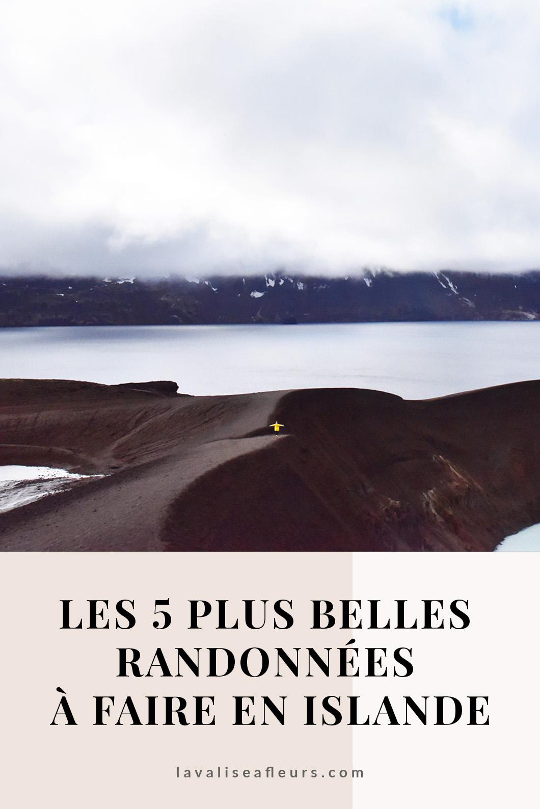 Les 5 plus belles randonnées à faire en Islande