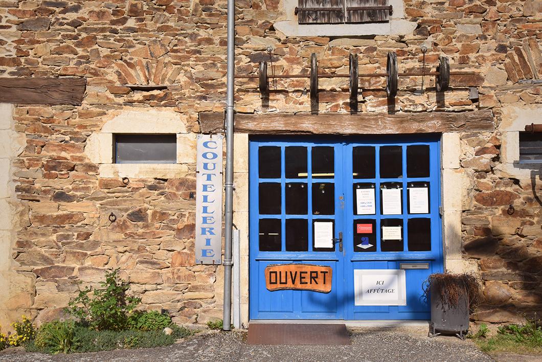 Visite de la Coutellerie - Atelier De Sauveterre