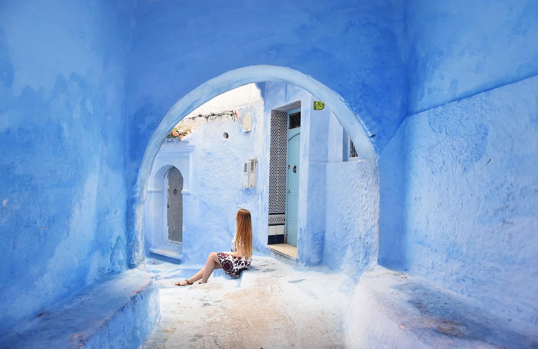 Chefchaouen road trip maroc du nord