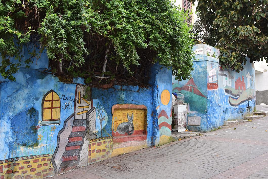 Quartier du musée de la Kasbah - Tanger