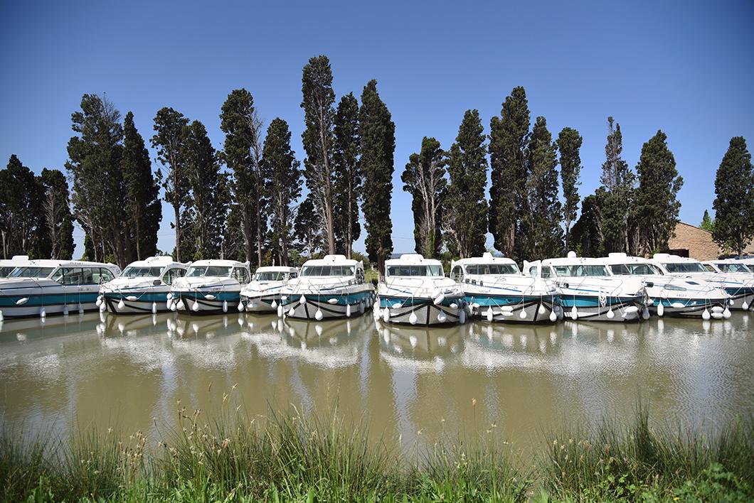 Le Somail, escapade sur le Canal du Midi