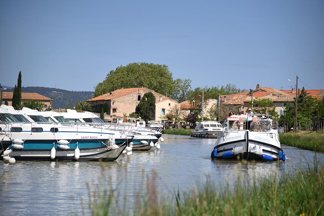 Le Somail, week end sur le Canal du Midi