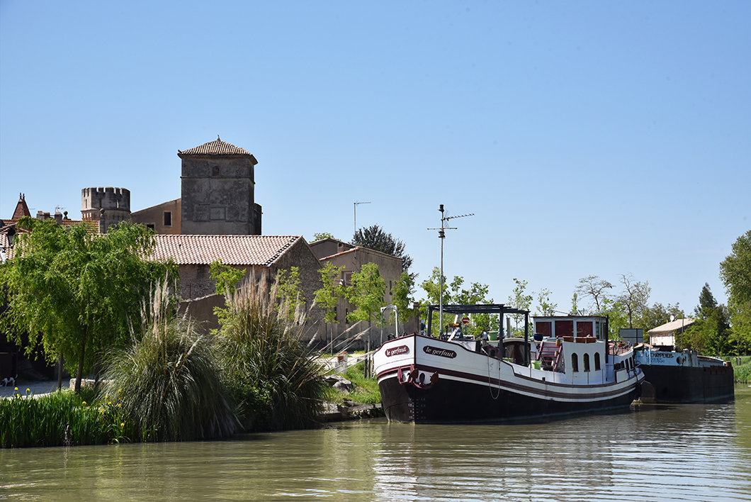 Colombiers, escapade sur le Canal du Midi