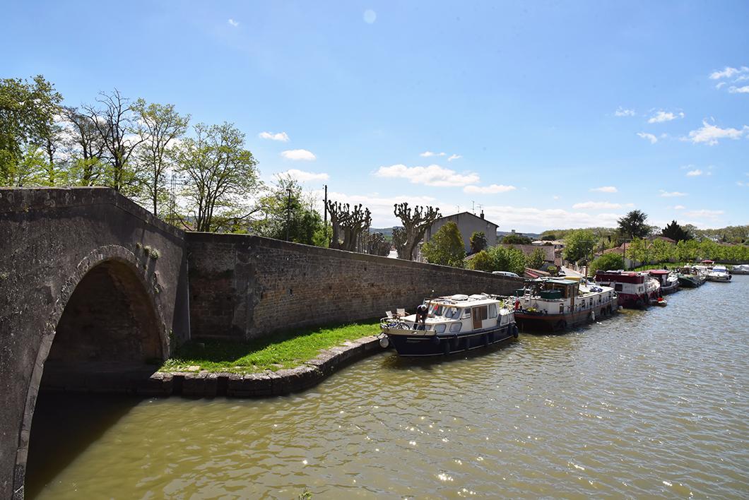 Castelnaudary, week end sur le Canal du Midi