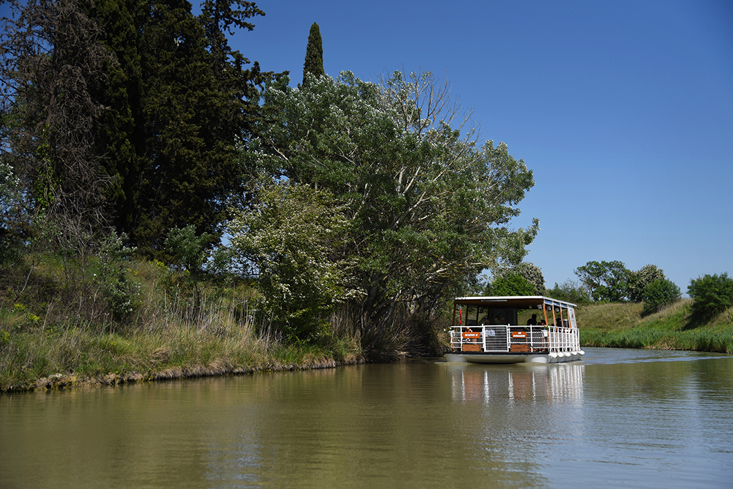 Colombiers, week end sur le Canal du Midi